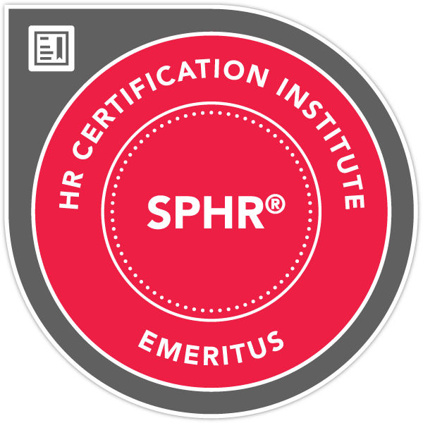 SPHR Human Resources Certification